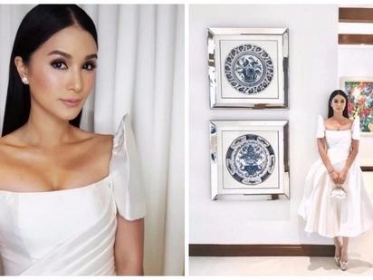 Iba talaga siya! Heart Evangelista's elegant white dress for SONA 2017 is simple yet classy