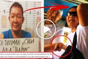 This Pinoy thief threatened to hurt a brave girl for confronting him about stealing from a foreigner inside a jeepney! Watch the frightening video!