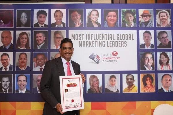 Brand Kenya director named among top global marketers