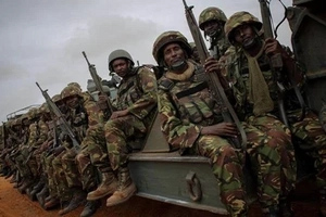 2 killed after al-Shabaab attack Amisom military base