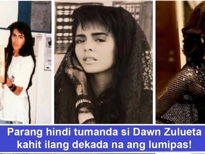 Natagpuan kaya niya ang fountain of youth? Dawn Zulueta literally parang hindi tumanda