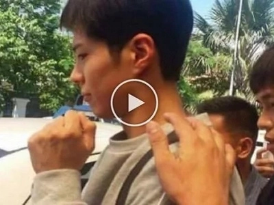 Hinay-hinay lang! Korean heartthrob Park Bo Gum harrassed by aggressive Pinoy fans at Cebu airport