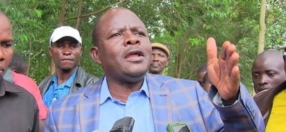 Jubilee MP blamed for organising attack on Raila bitterly rejected and embarrassed at funeral (video)