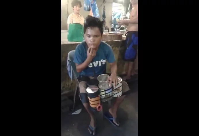 Badjao Street Drumming Viral Video Entertained Millions of Netizens!