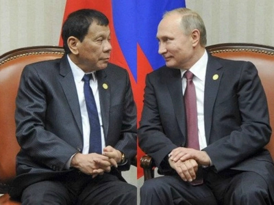 Paalam Asia? Duterte meets his idol Putin, tells him PH wants to be part of Europe