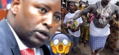 They have brought 15 witchdoctors from Congo- another Jubilee governor accuses the opposition of using Juju