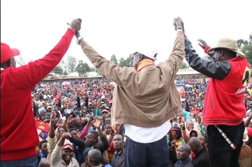 Mwanasiasa mkuu katika kambi ya Jubilee awashangaza wengi kwa kumuunga mkono mgombeaji wa ODM