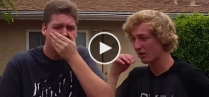 WATCH: Colorblind brothers see color for the first time; their reactions are priceless!