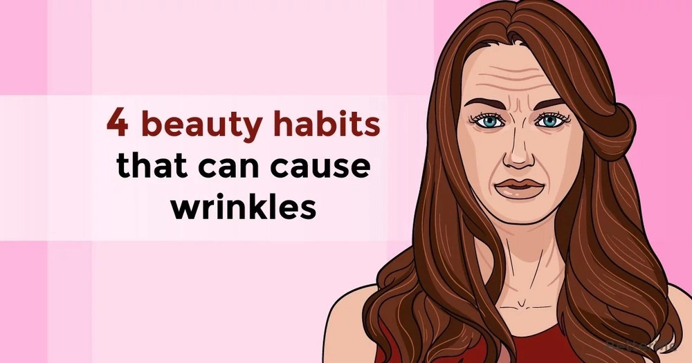 4 beauty habits that can cause wrinkles