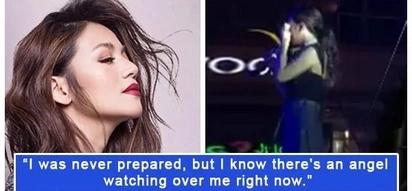 Naiyak talaga siya! Kyla breaks down during her performance while sharing news about devastating loss
