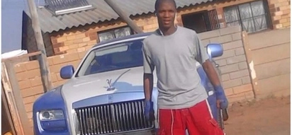 Man poses for pics next to Ksh38m Rolls-Royce only to be suspected of stealing it