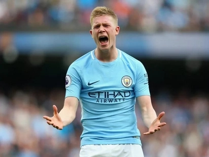 Reason behind De Bruyne's '2-1' celebration in Manchester City's win over Tottenham