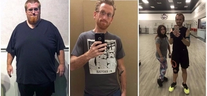 Amazing! Man who almost died of obesity shares his stunning transformation after shedding 158kg