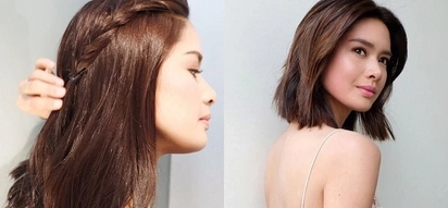 Brokenhearted Erich Gonzales cuts hair after painful split with Daniel Matsunaga. Short hair, don't care!