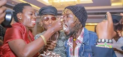 Mwimbaji Akothee apokelewa kwa shangwe kuu katika uwanja wa JKIA (picha)