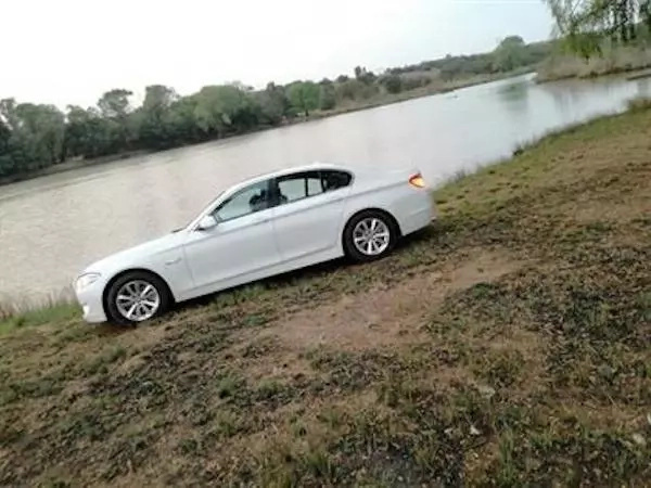 Another BMW that reportedly belongs to the inmate. Photo: dailysun.co.za