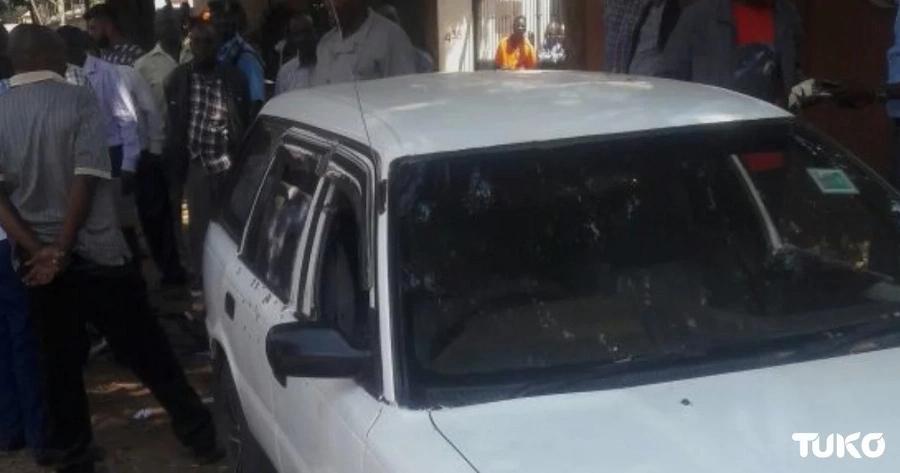 Majambazi 4 wauliwa Nairobi, magwanda ya polisi yapatikana kwenye gari lao