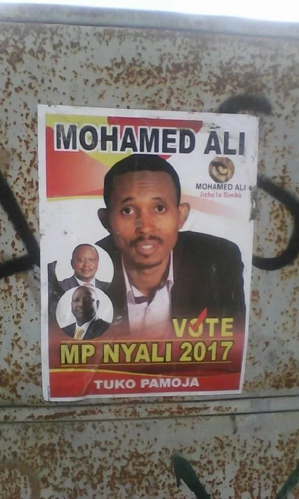 Mohammed Ali warns Joho after his 'silly tactics'