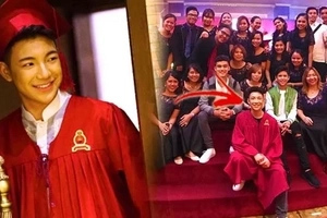 Darren Espanto proves nothing can ever replace education, not even fame