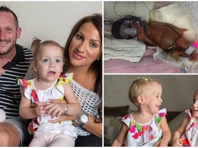 Miracle babies! Twins delivered four months premature pull through and return home healthy