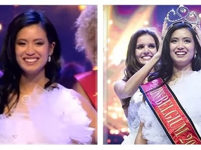 Kelangan ba talaga 'blonde' and 'blue-eyed'? Pinay Beauty Queen Angeline Flor Pua gets bashed after bagging the title of Miss Belgium 2018