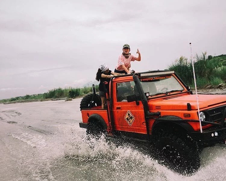 Andi suggested Pampanga as the perfect place where to try out this adventure. (Photo credit: Instagram)