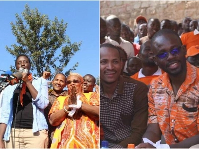 Raila Odinga's daughter now inherits his political shoes in colourful launch (photos)
