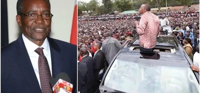 Uhuru corrected after making FALSE statement in Nyamira