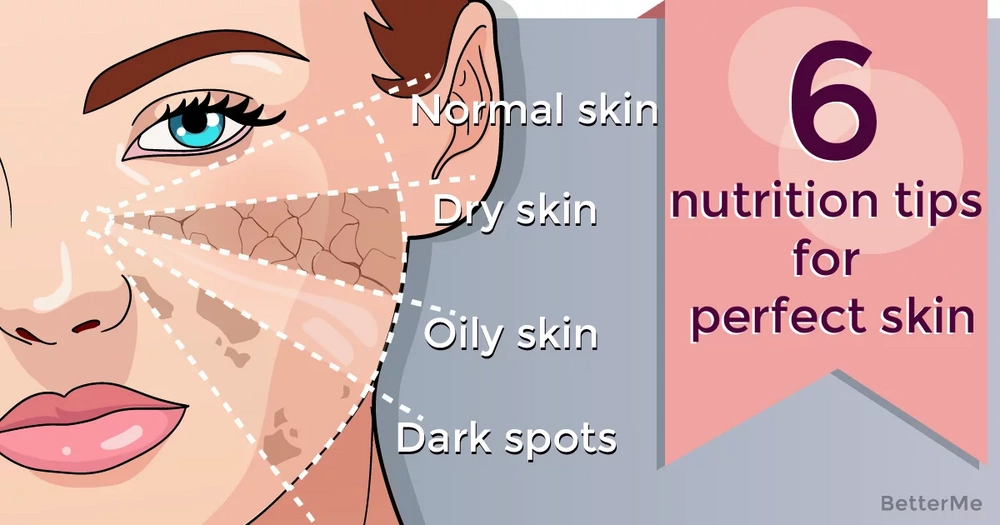 6 nutrition tips for perfect skin from the dermatologist