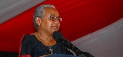 First Lady Margaret Kenyatta in surprise visit to village as she steps up campaign for husband's re-election