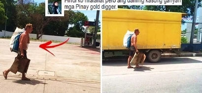This German in Cebu was left by his Pinay girlfriend 8 years ago when he lost his money. What he does now in order to survive will break your heart!
