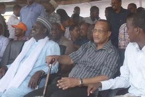 PHOTOS: Raila Odinga leads rally in Aden Duale's Garissa backyard