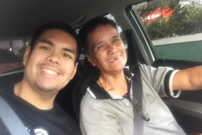Elderly woman drives Uber for a living