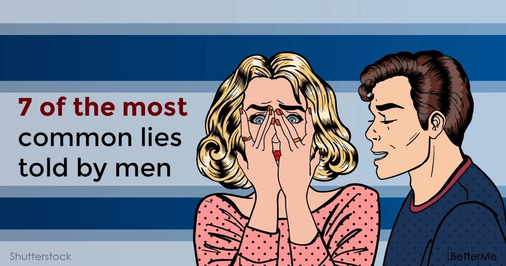 7 of the most common lies told by men