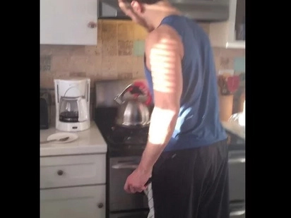 Hilarious Whistling Teapot Prank Is Going Viral