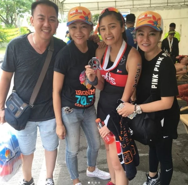 Kim Chiu hurdles Ironman 70.3 and her experience was memorable
