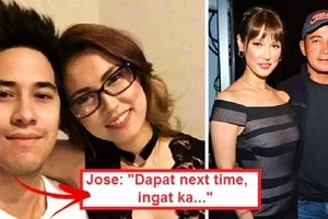 Watch Maria Ozawa's Pinoy boyfriend Jose Sarasola break his silence about her rumored affair with Cesar Montano: 'Very iffy situation!'