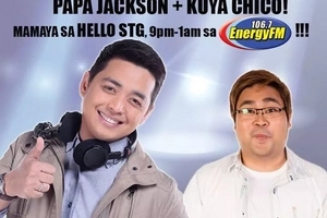 Missed Papa Jack? He's Now Papa Jackson Together with Kuya Chico on Energy FM!