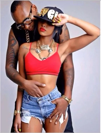 Prezzo's ex-girlfriend stirs up anew romance with colonel Mustapha