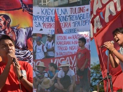 May pinaglalaban! Activists gather to protest at Mendiola Peace Arch