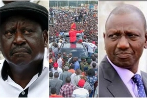 Even Mudavadi can take up Chiloba's job – Ruto fires back at NASA for damaging claims against IEBC