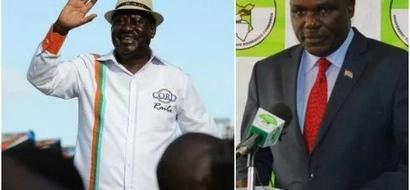 Raila Odinga's joyous response after court ruled against IEBC