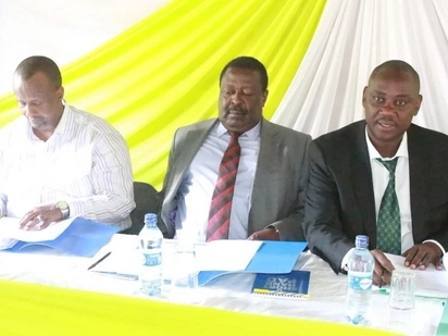 We would rather stand alone as opposition rather than join Jubilee - Mudavadi declares