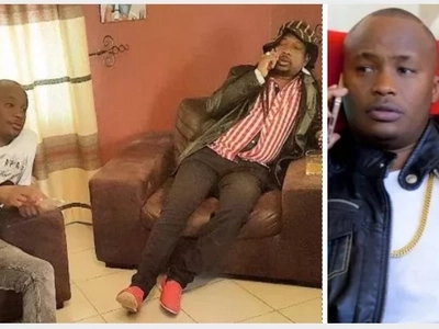 Jubilee aspirant who CRIED during nominations shows off his father and Kenyans MELT