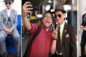 This lolo fashionista commutes from Pampanga to Makati daily to provide for his sick wife! But what's his connection to Alden Richards?