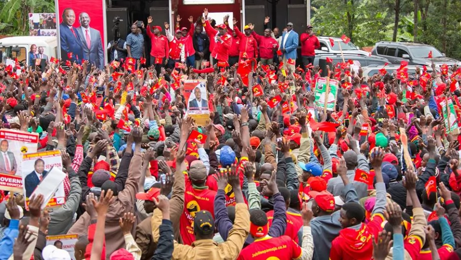 Uhuru reveals why he refused to debate with Raila Odinga