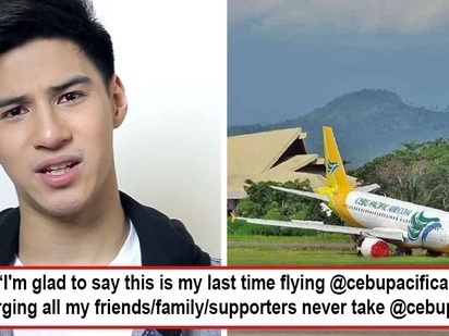 Sinagad pasensiya niya! Albie Casiño rants against Cebu Pacific's flight cancellation without prior notice and netizens rally behind him