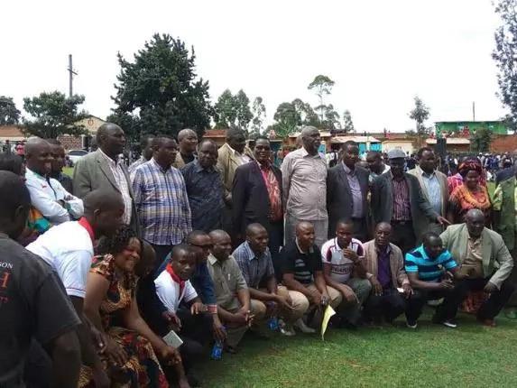 Mbunge wa Jubilee aponea kichapo cha mbwa Kisii