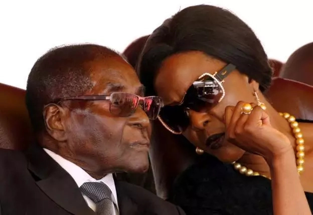 The ring was meant to be President Mugabe's gift to his wife on their 20th wedding anniversary. Photo: Reuters