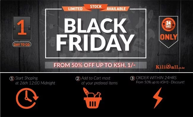 Kilimall partners with leading brands in Black Friday big sale